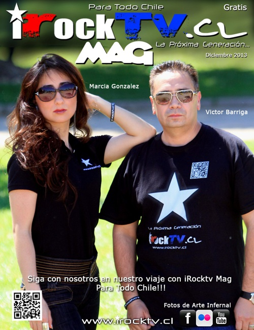 iRocktv.cl Revista 2013