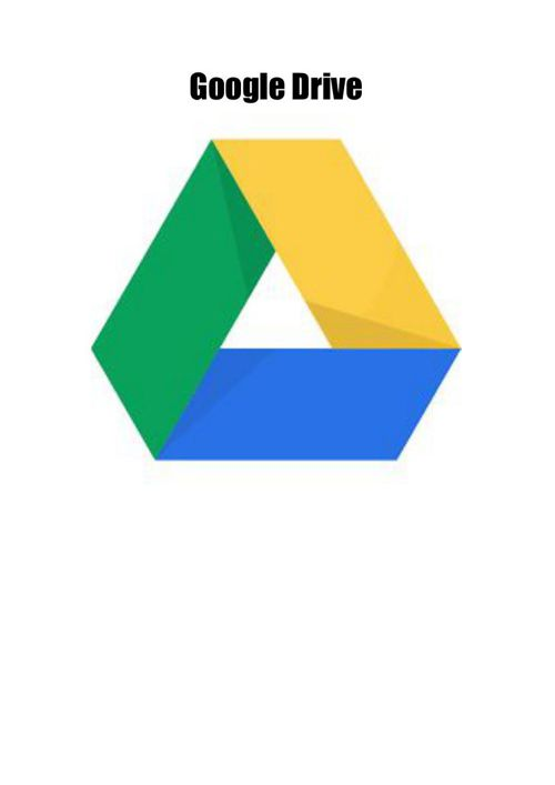 Guide on Google Drive