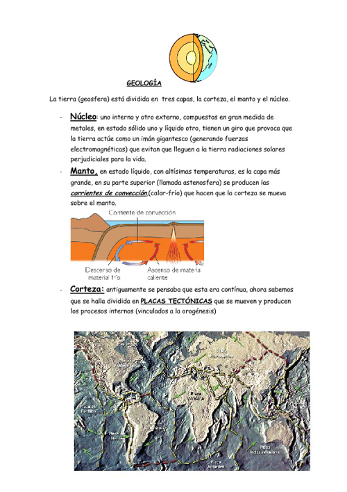 APUNTES DE GEOLOGIA