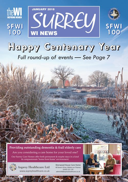 SURREY WI News - January 2018