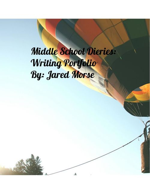 Copy of Middle School Diaries: Writing Portfolio
