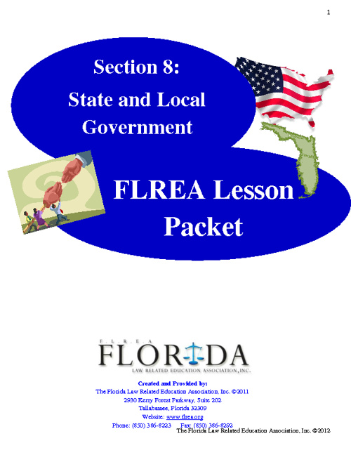 Section 8 - State and Local Government Booklet
