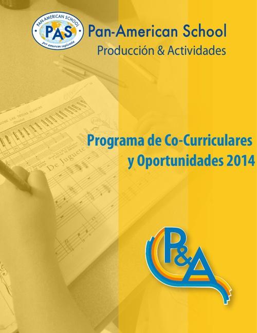 Oferta Co-Curriculares 2014