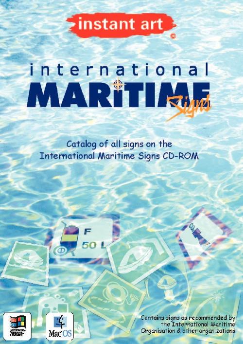 instant art© International Maritime Sigsn CD-ROM catalog