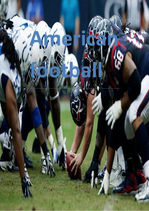 American football van Frank en Harm