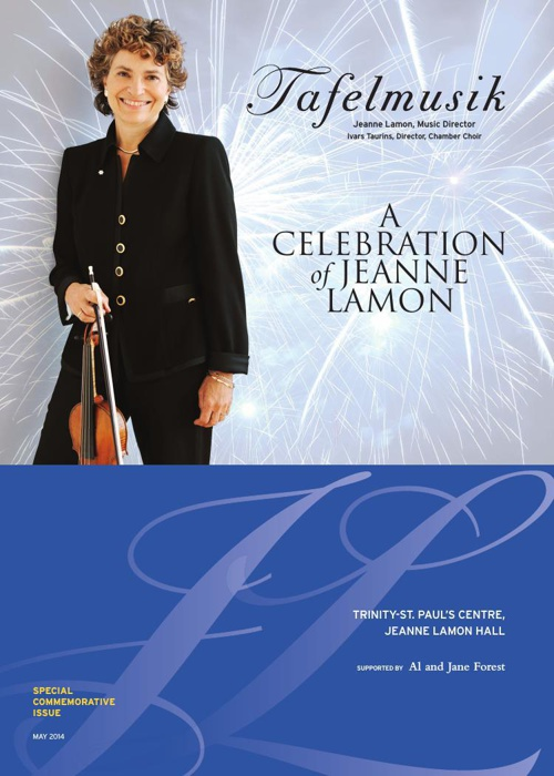 A Celebration of Jeanne Lamon - Special Commemorative Issue