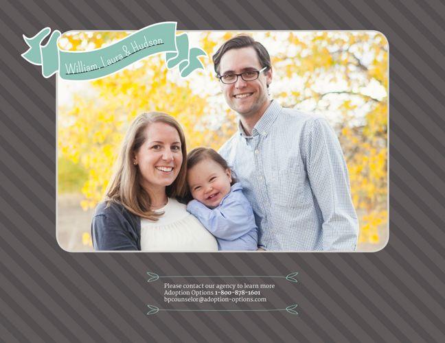 William and Laura's Adoptive Family Website