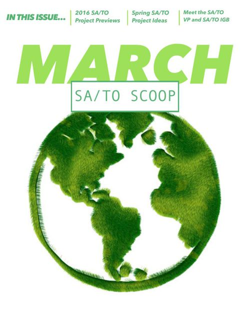 March SA/TO Scoop