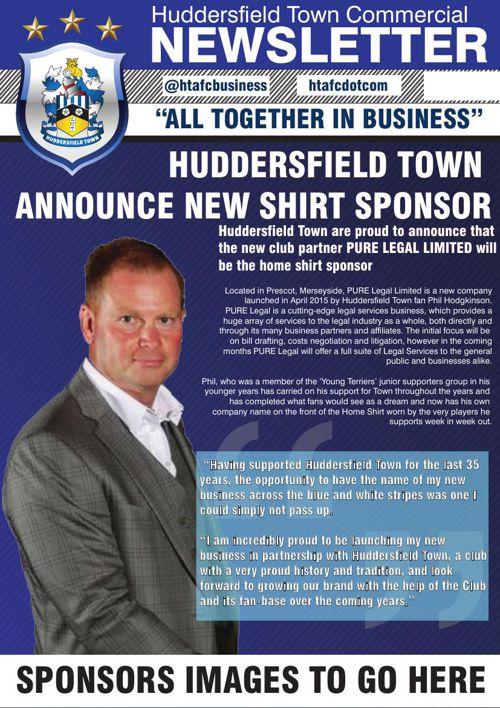 HTAFC commercial newsletter