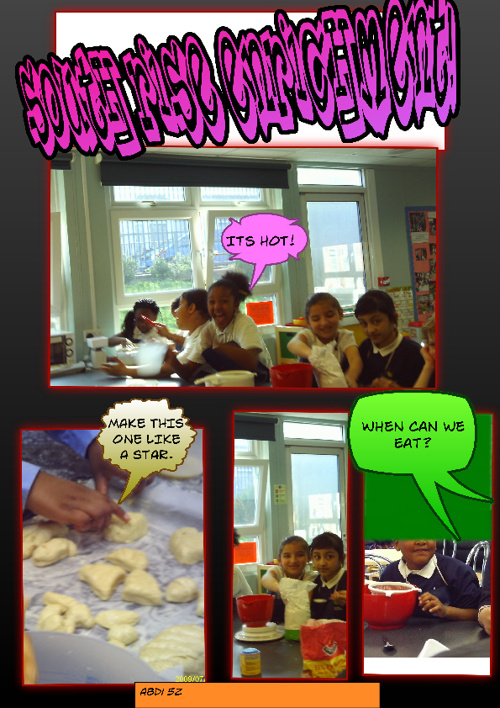 Enrichment Comic Life
