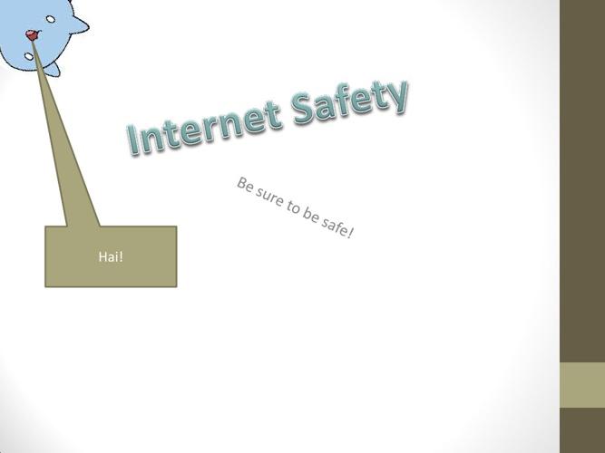 Internet safety Mk 2