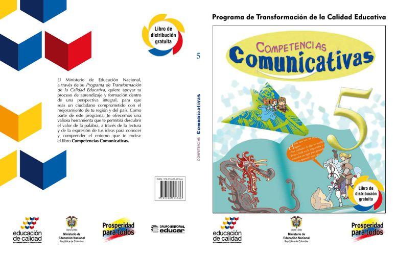 COMPETENCIAS COMUNICATIVAS 5° GRADO