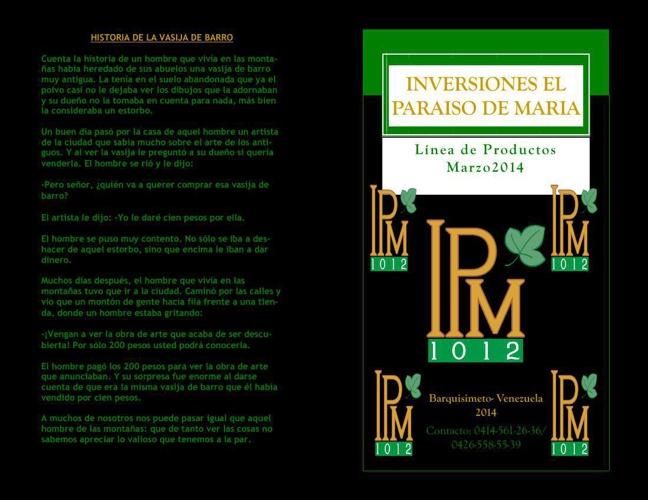 CATALOGO marzo2014PRIMERA EDICION