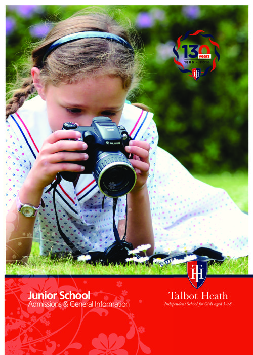 Talbot Heath Junior School Admissions Brochure