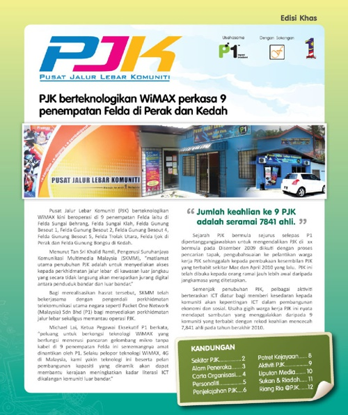 PJK Newsletter Edition 1
