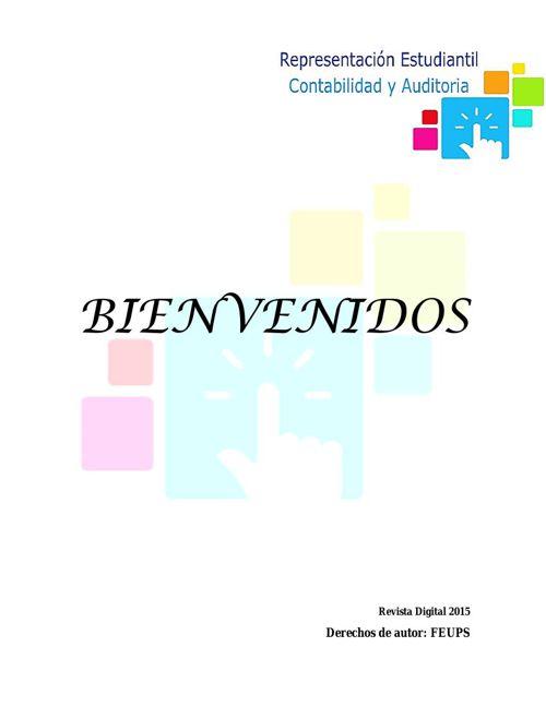 REVISTA DIGITAL REPRESENTACIÓN ESTUDIANTIL CONTABILIDAD Y AUDITO