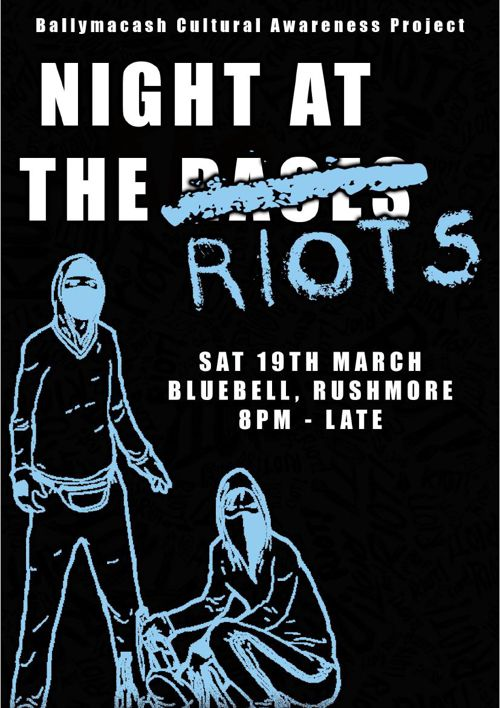 Night at the riots