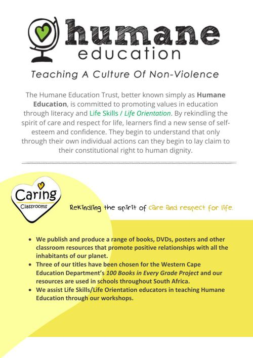 Humane Education Catalogue of Resources