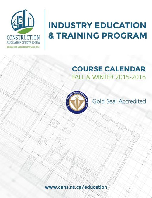 Industry Education Catalogue 2015-2016