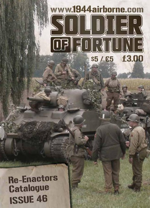 Soldier of Fortune Re-enactor Catalogue issue 46 WW1 Section
