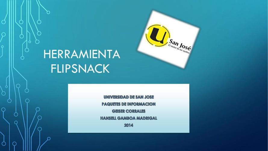 PRESENTACION FLIPSNACK - PDF