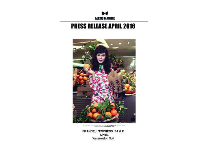 Press Release April 2016