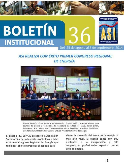 Boletín 36 de ASI