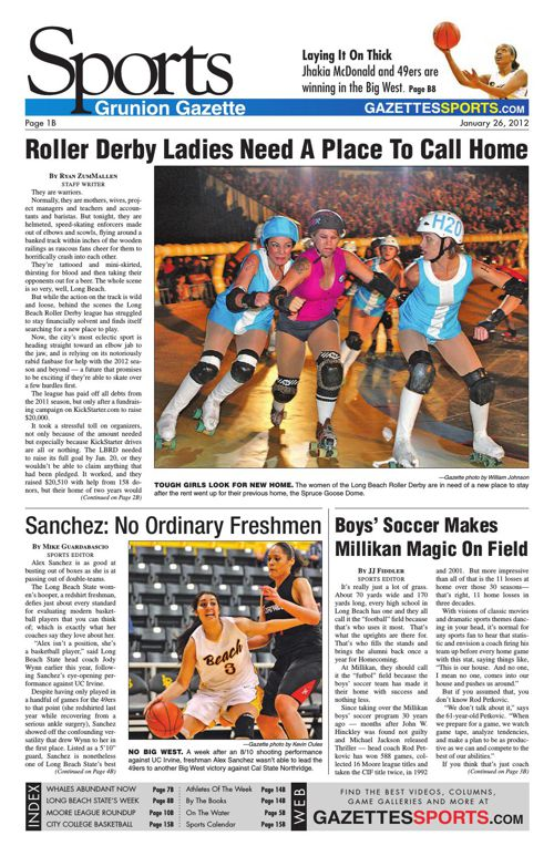 Gazette Sports | January 26, 2012