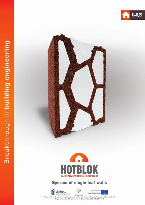 HOTBLOK PHI Certified Single Wall System