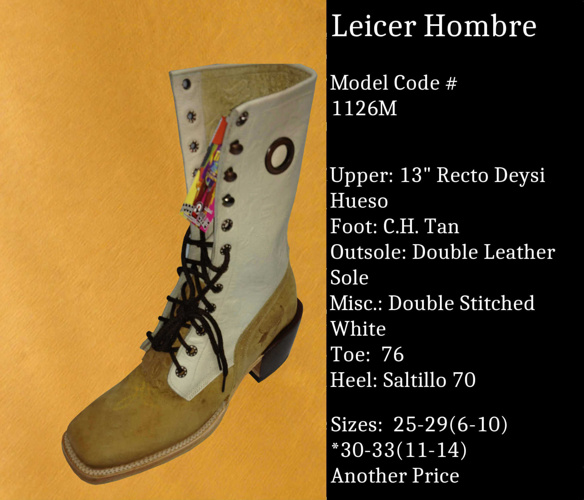 Leicer Hombre by Billy Boots Cowboy boots