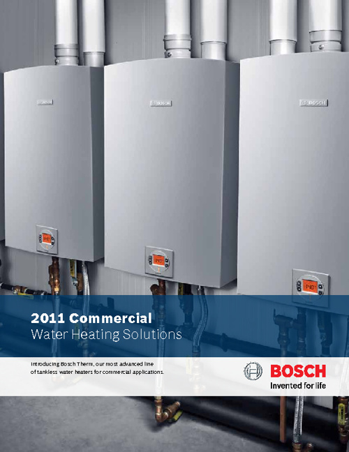 2011 Commercial Water Heating Solutions
