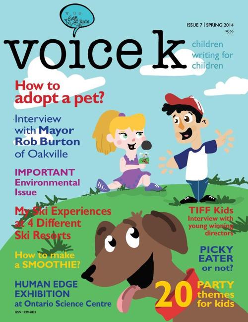 Voice K Issue 7 Spring 2014