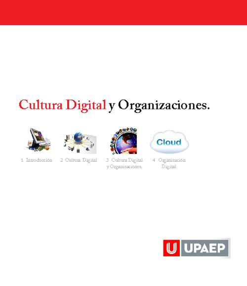 Cultural Digital y Organizaciones