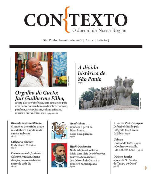 Jornal Contexto - O Jornal da Região l Edição 4 l Fevereiro de 2