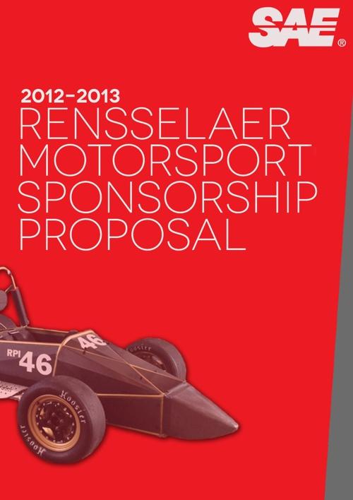 Rensselaer Motorsport Sponsorship Package