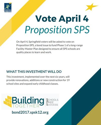 Proposition SPS site specific bond projects 2017