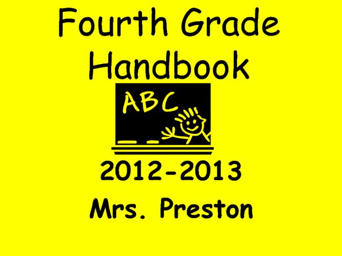 Parent Orientation 2012