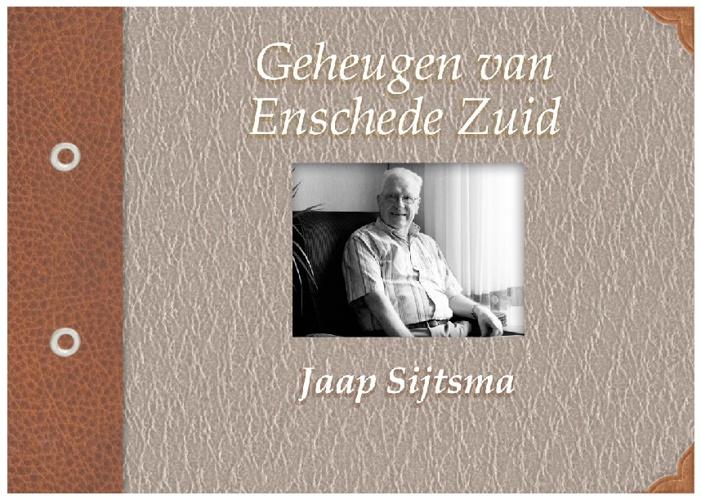 Geheugen van Enschede: Jaap Sijtsma