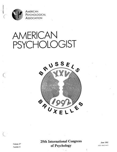American Psychology Journal