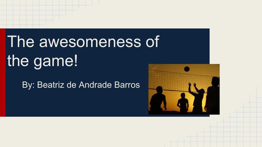 Copy of Volleyball by Beatriz Barros