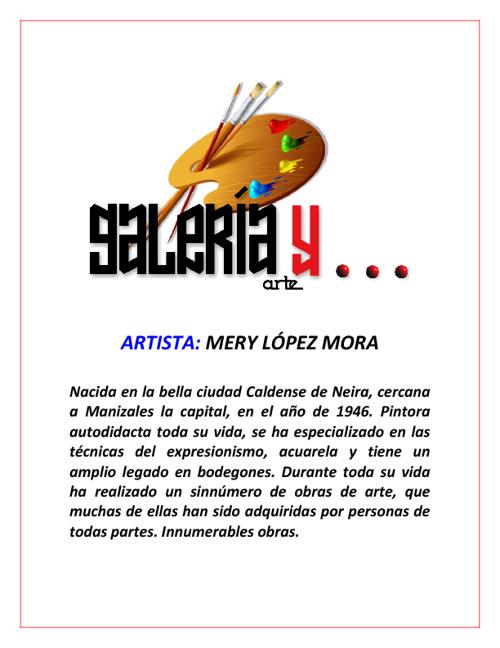 Galeria y Arte Mery López Mora