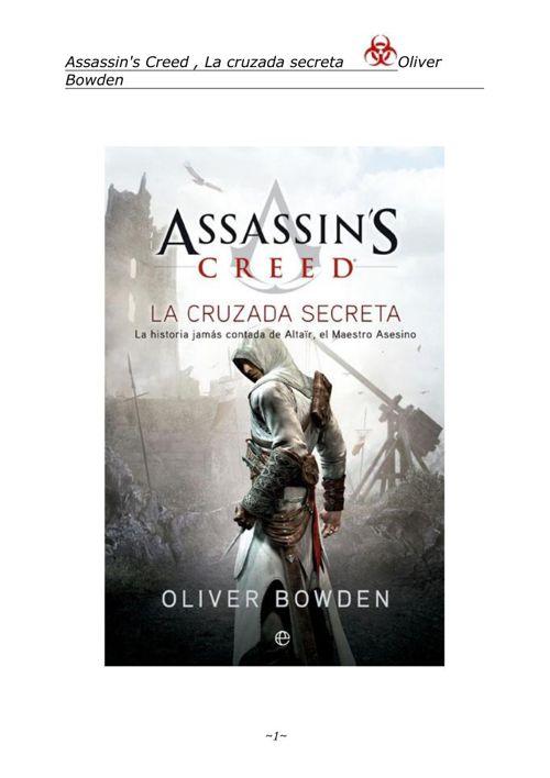 Copy of 1 - Assassins Creed La Cruzada Secreta-Oliver Bowden