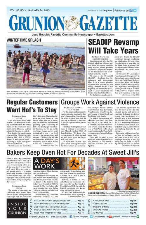 Grunion Gazette | January 24, 2013