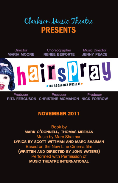 Hairspray Program