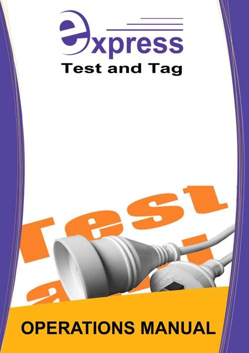 - NEW MAY - Test And Tag