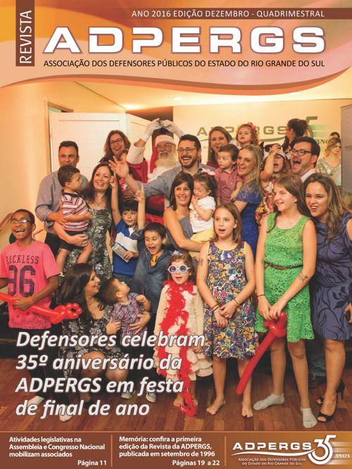 Revista - ADPERGS - 2016-Dez