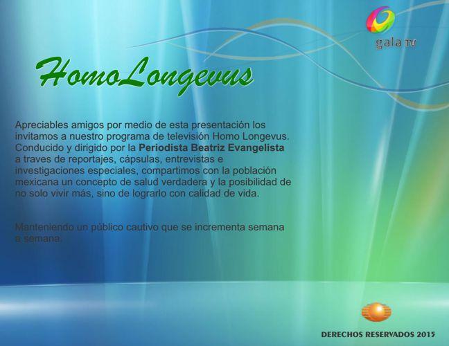 Presentacion HomoLongevus