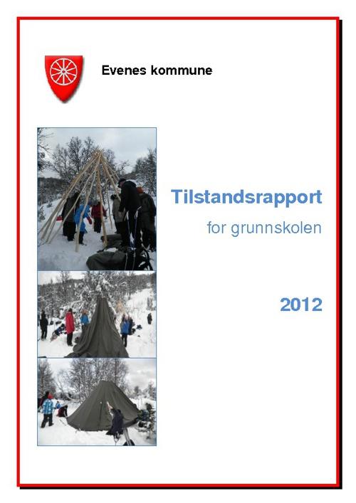 Tilstandsrapport grunnskolen 2012