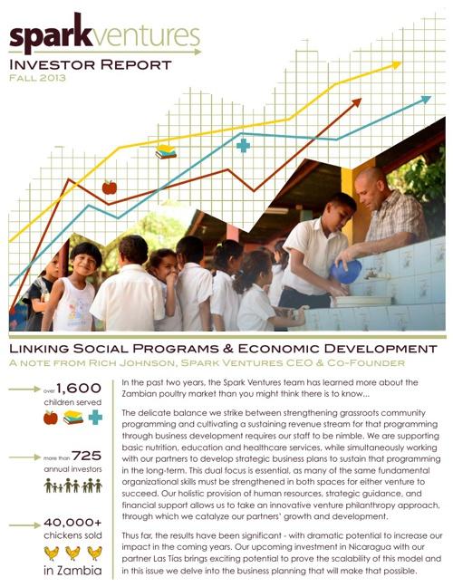 Investor Report - Fall 2013