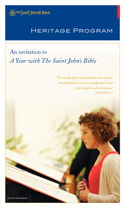 A Year With The Saint John's Bible